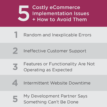 5-ecommerce-implementation-issues
