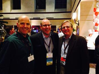 Bill, Lyle Ekdahl, and Dave