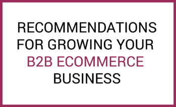 B2B recommendations