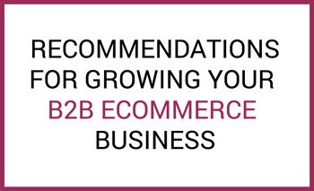 B2B recommendations
