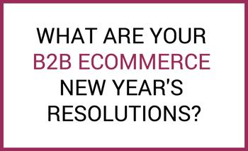 B2B resolutions