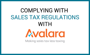avalara sales tax regulations
