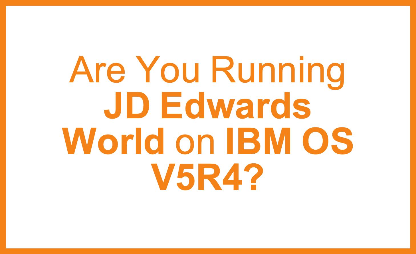 JDE_World_on_IBM_V5R4
