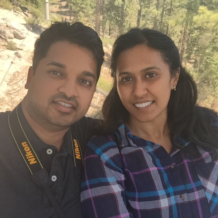 Prathyusha_and_Husband