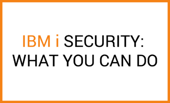 ibm i security
