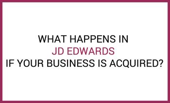 jde business acquisition