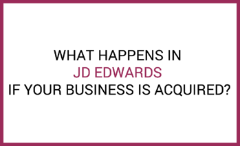 jde business acquisition