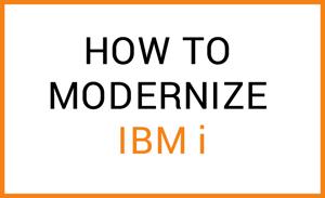 modernize ibm i